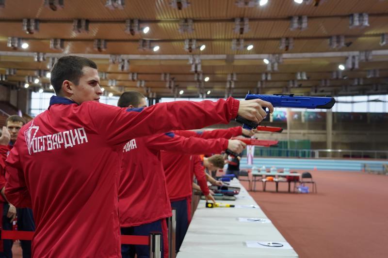 Турнир по лазер-рану состоялся в легкоатлетическо-футбольном комплексе ЦСКА