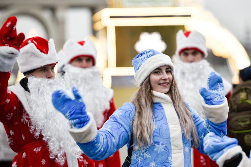 Жителей и гостей столицы пригласили отпраздновать Новый год на ВДНХ