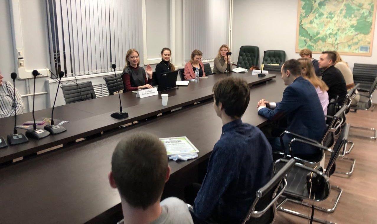 Активисты Молодежной палаты подвели итоги года