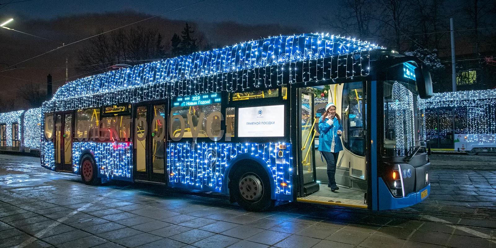 Московский транспорт будет работать всю новогоднюю ночь