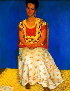 Портрет художницы. Фото: скриншот видео