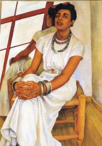 Портрет Марин Гуадалупе., работа Диего Риверы. Фото: скриншот видео