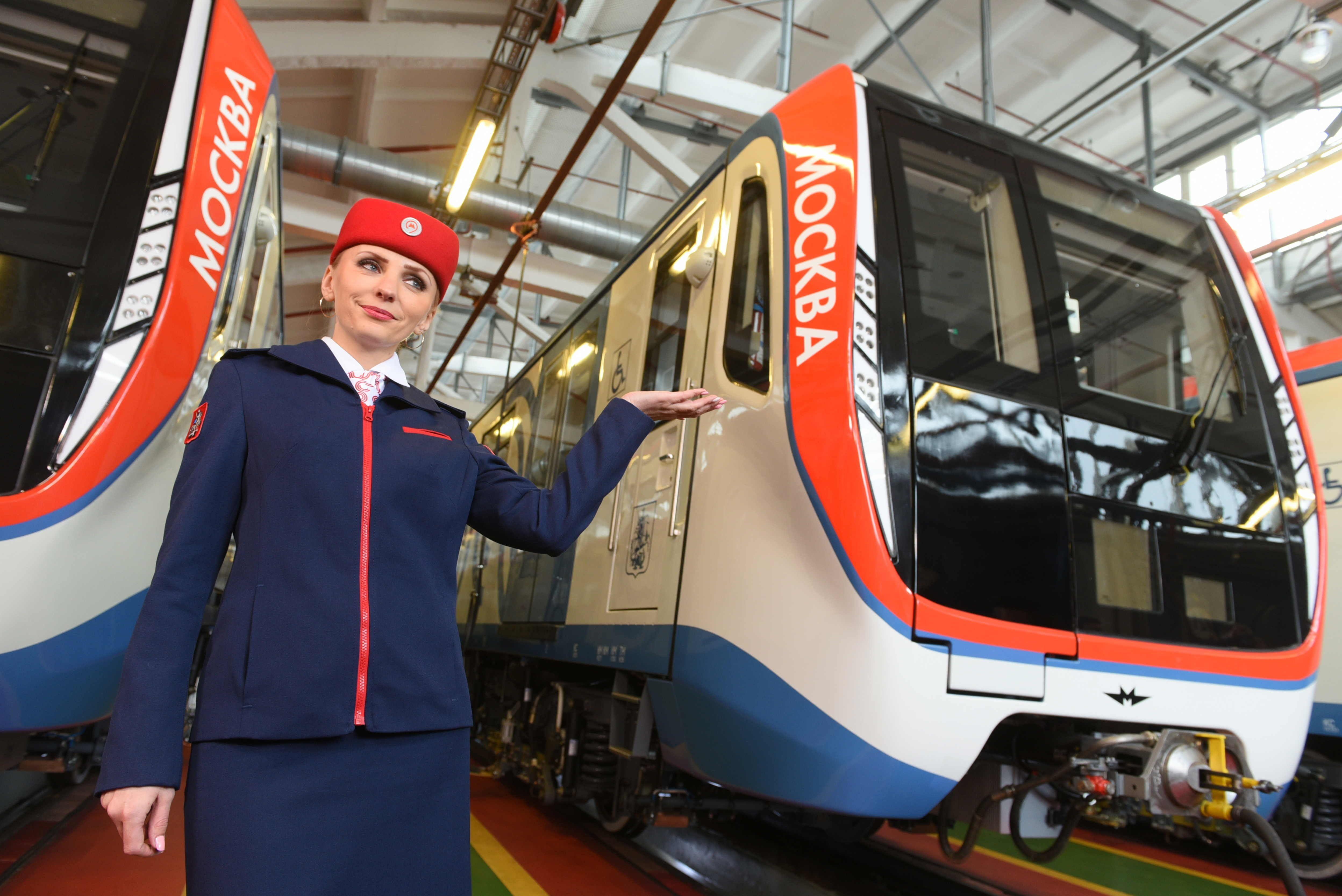 Пассажиры столичного метро получат еще 700 вагонов поездов «Москва»