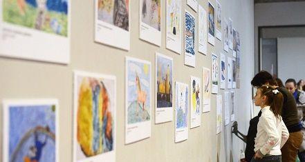 Выставки детских рисунков открыли в Московском