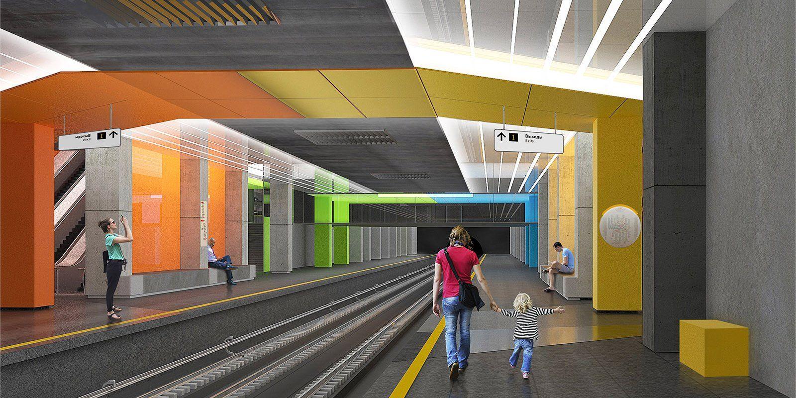 Метро Москвы получит девять станций за 12 месяцев