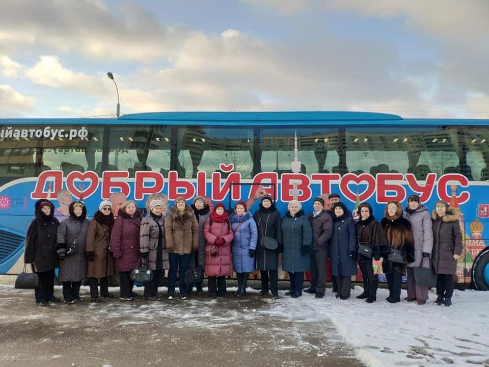 Экскурсионную программу посетили участники проекта «Московское долголетие» из Щербинки