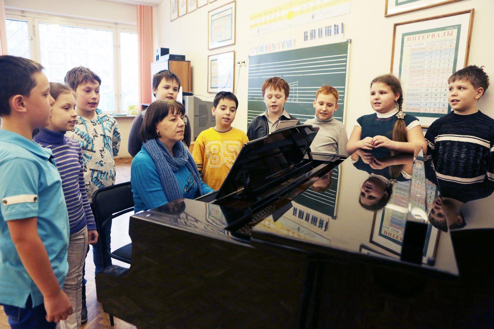 Конкурс «Занимательное сольфеджио» состоялся в Московском. Фото: архив