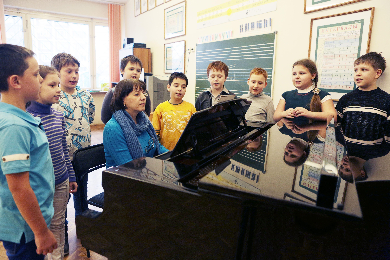 Конкурс «Занимательное сольфеджио» состоялся в Московском