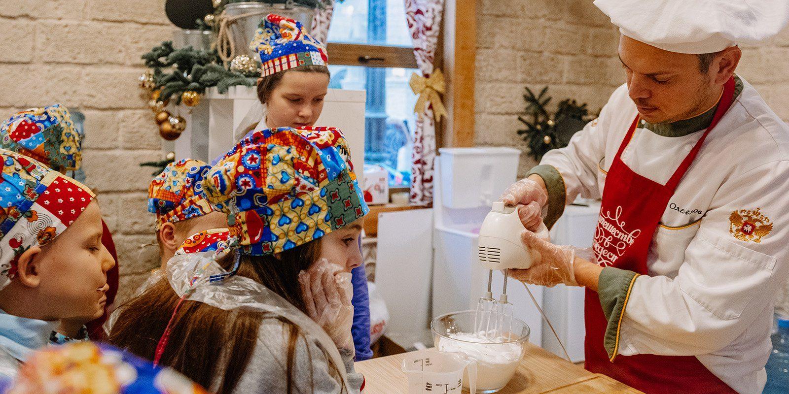 Фестиваль «Путешествие в Рождество»: жители Троицка смогут поучаствовать в кулинарных мастер-классах