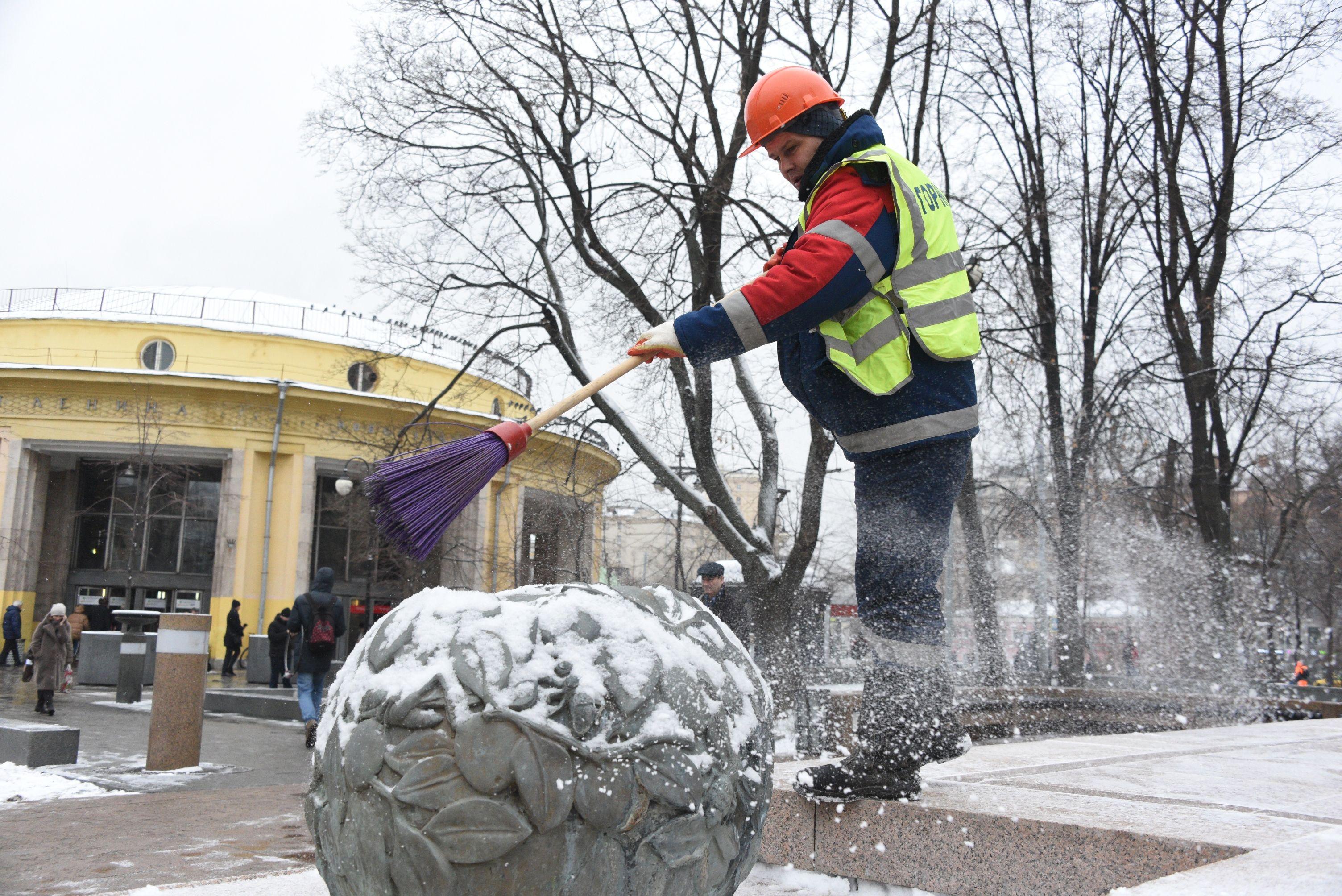 Мягкая зима останется в Москве еще на неделю