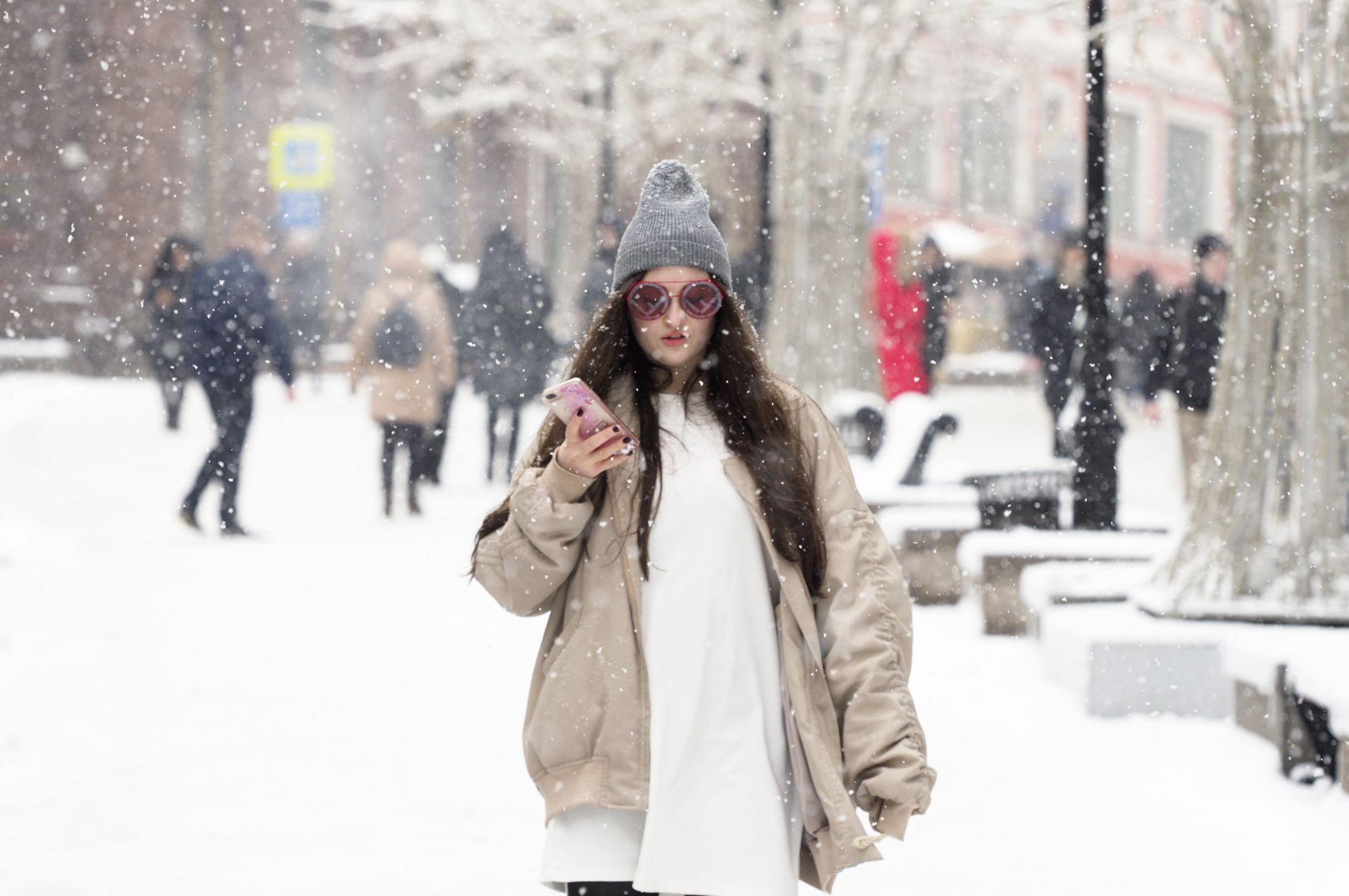 Москвичей ожидают снежные выходные дни
