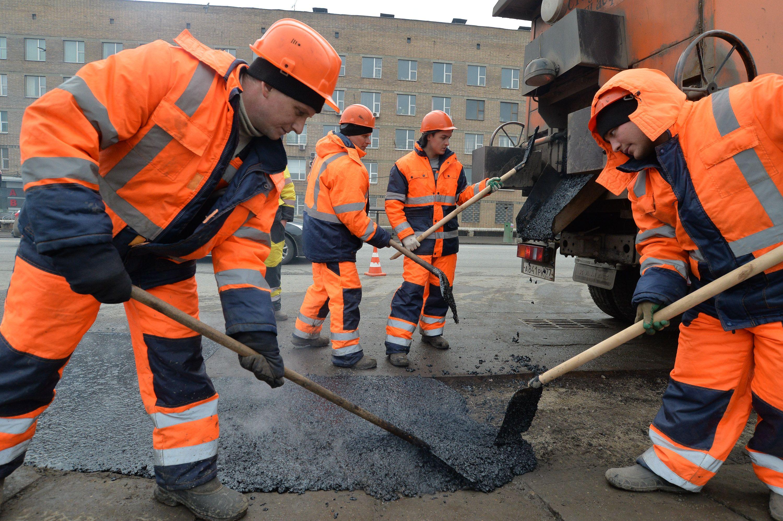 Более 30 дорожных объектов обновили в Краснопахорском за год