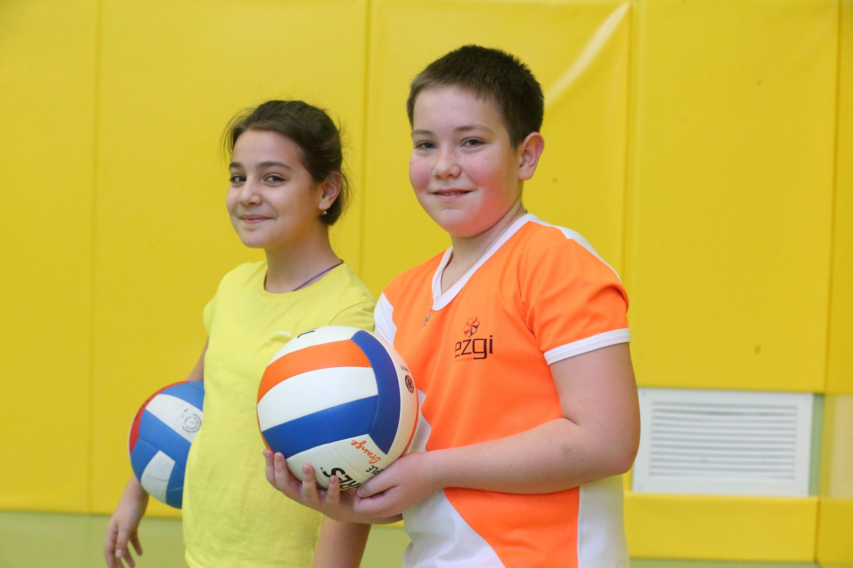 Юные волейболисты мечтают стать профессиональными спортсменами