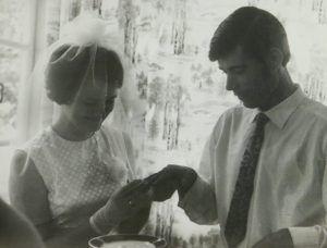 1971 год, город Ашхабад. Вера и Александр сыграли свадьбу. Фото из личного архива
