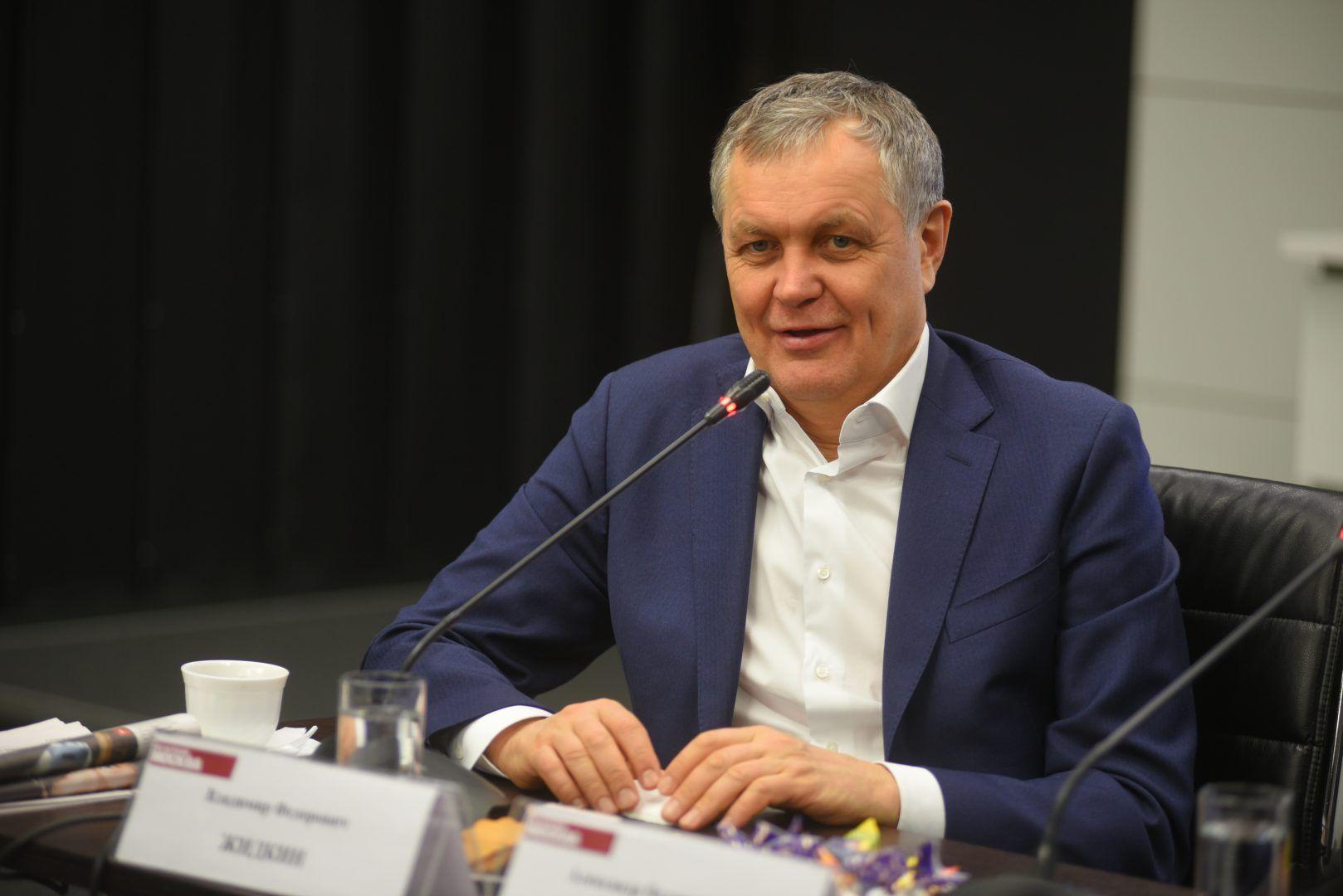 Руководитель Департамента развития новых территорий Москвы Владимир Жидкин. Фото: Александр Кожохин