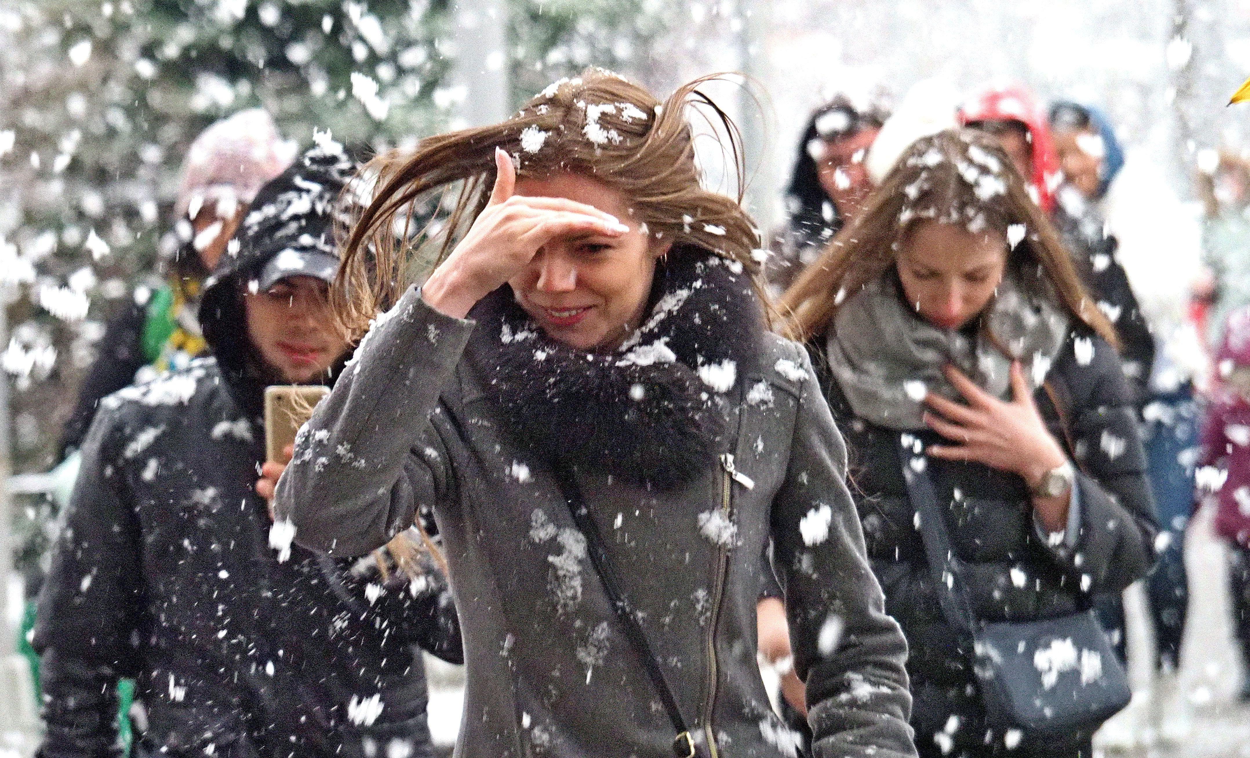 Снег и сильный ветер обрушатся на Москву в четверг