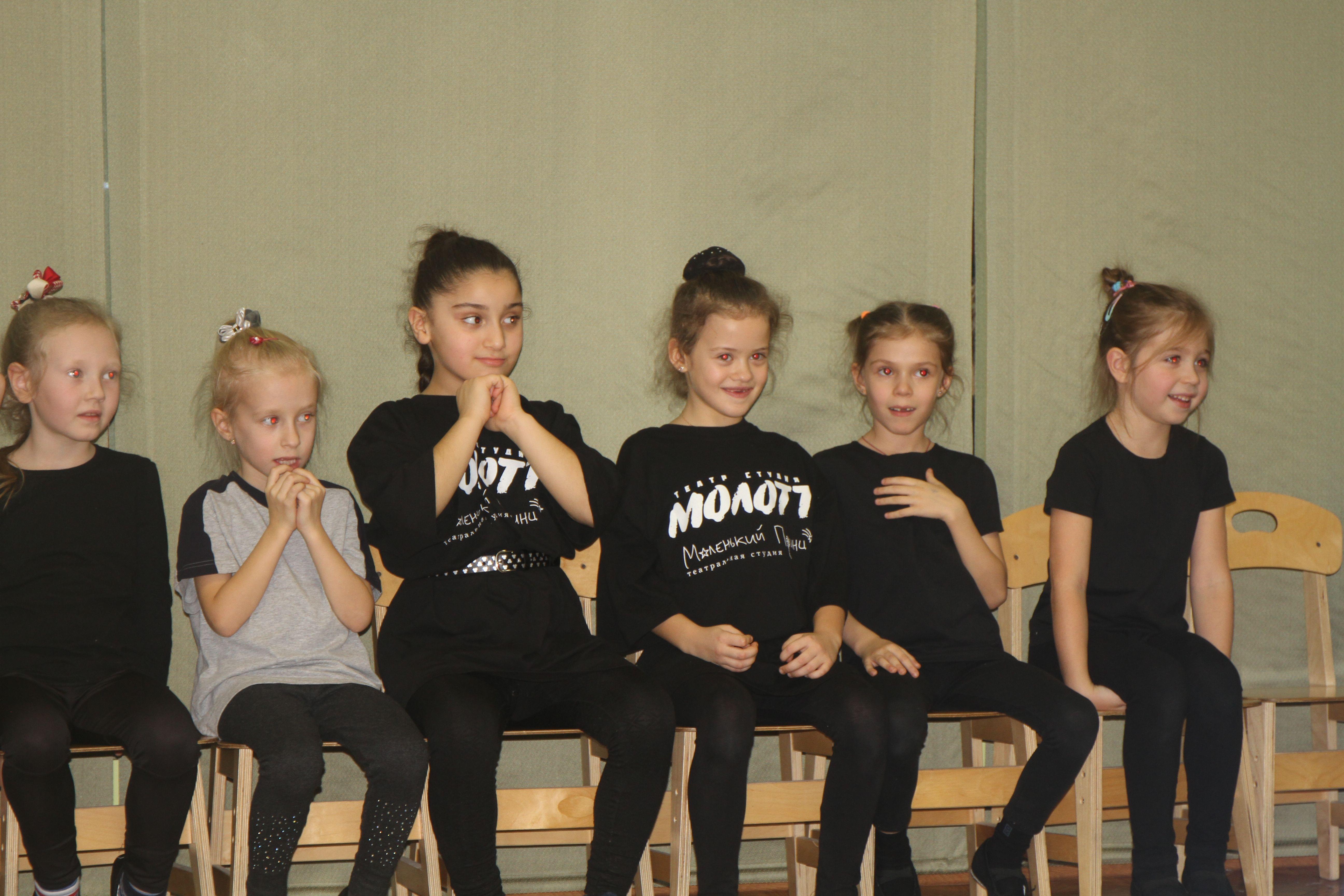 Занятие провели воспитанники театральной студии «Маленький принц». Фото предоставил сотрудник учреждения
