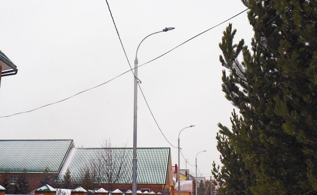 Светодиодные фонари установили в Рязановском