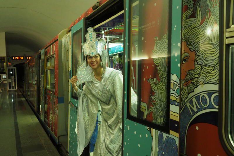Транспорт Москвы перевез более 80 миллионов человек в праздники