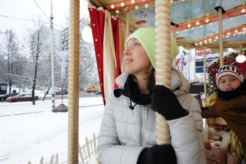 Москвичей ждут снежные выходные