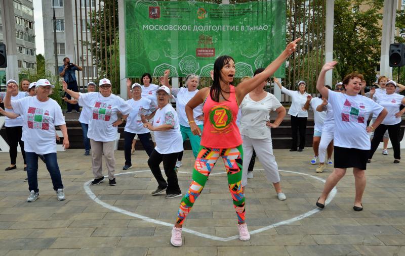 Обширную программу для укрепления здоровья провели в 2019 году в Новой Москве