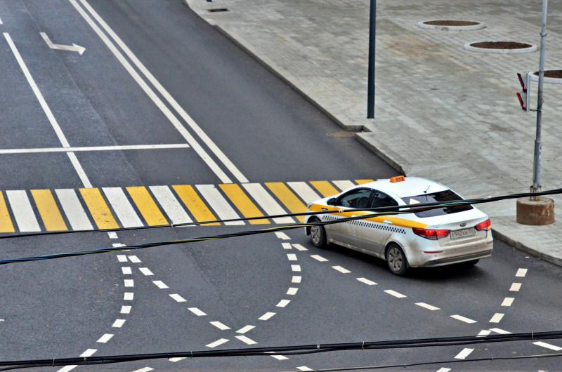 Загрузка на автомобильных дорогах в Новой Москве стала ниже почти на десять процентов