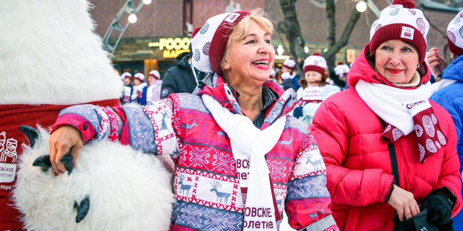 Свыше 700 праздничных мероприятий организовали для участников «Московского долголетия»