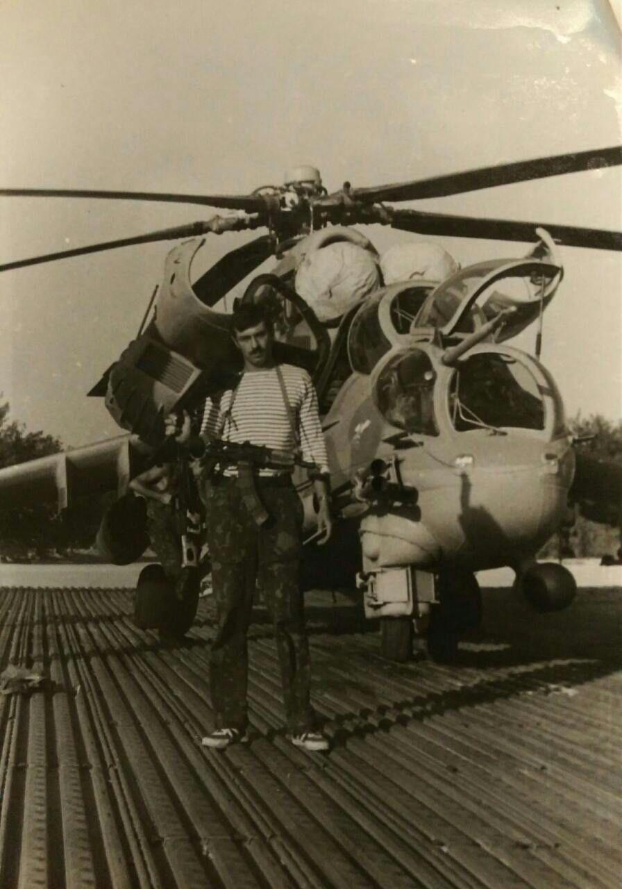 В 1987 году Диденко служил в Афганистане. Его аэродром находился в городе Газни. Фото: из личного архива