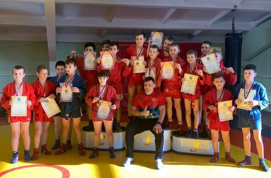Ребята из Роговского заняли призовые места на турнире по самбо