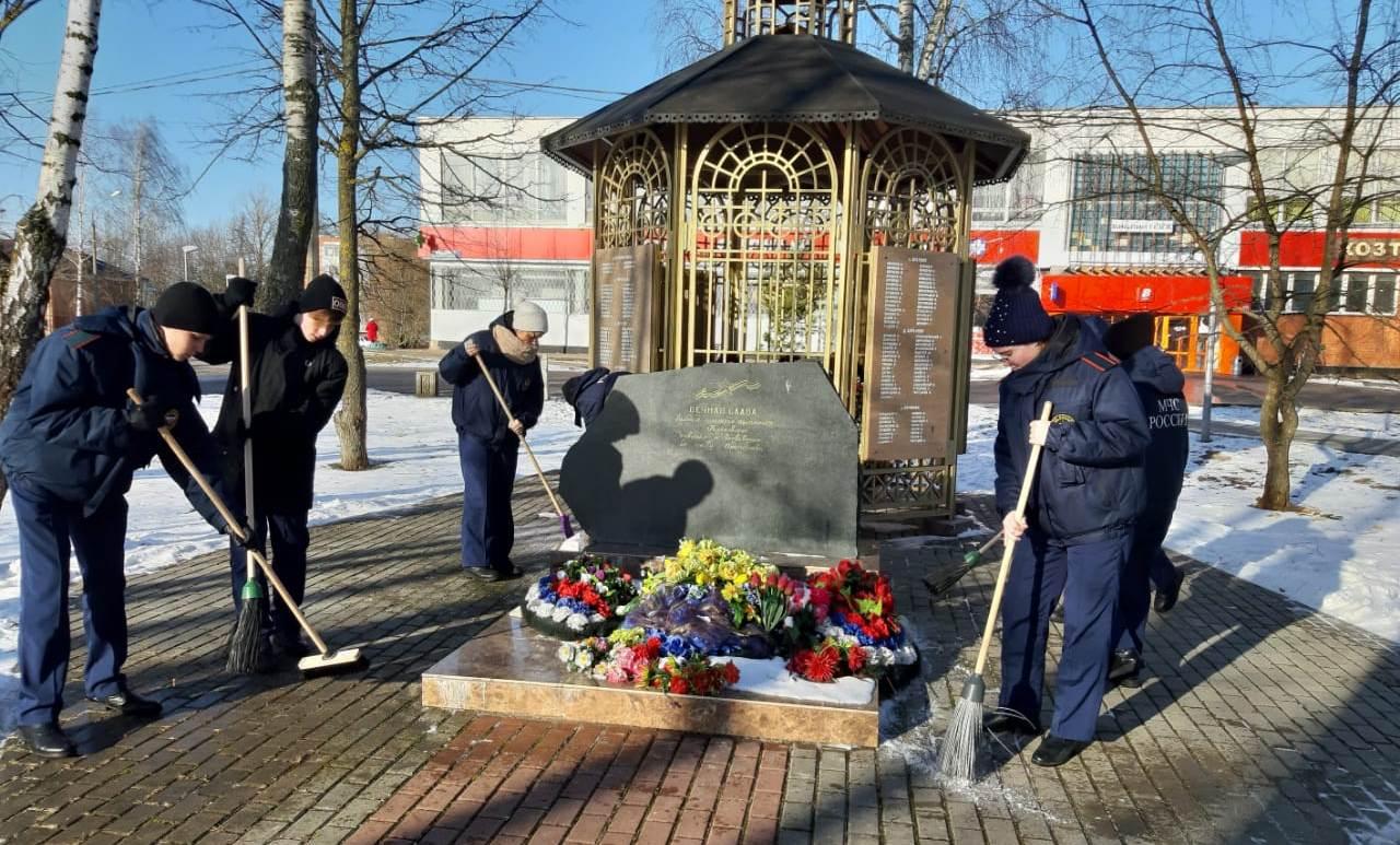 Акция по сохранению памятников прошла в Кленовском