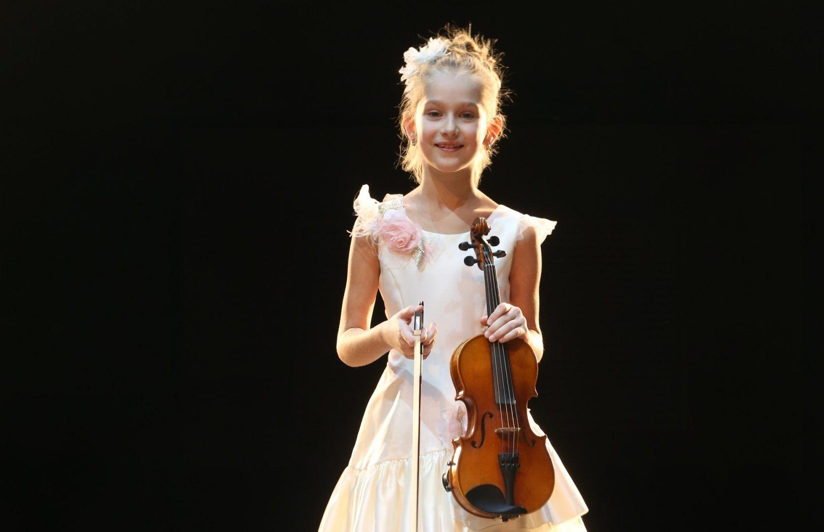 22 января 2020 года. Сосенское. Мария Харламова готовится к новому конкурсу. Фото: Виктор Хабаров