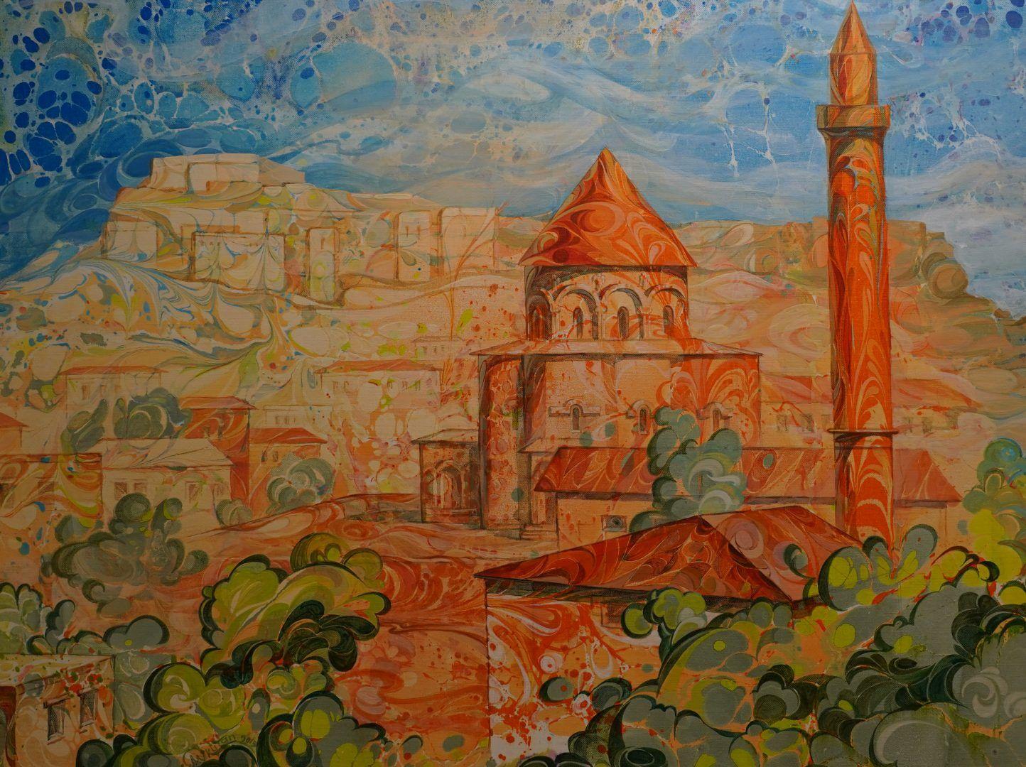 Церковь святых апостолов в Карсе, бывшая христианская церковь, превращенная ныне в мечеть.