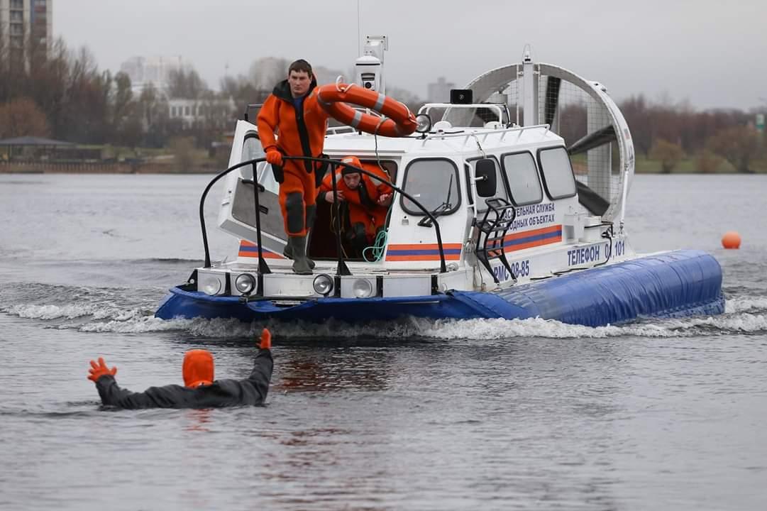 Сотрудники Московской городской поисково-спасательной станции «Троицкая» спасли лыжника