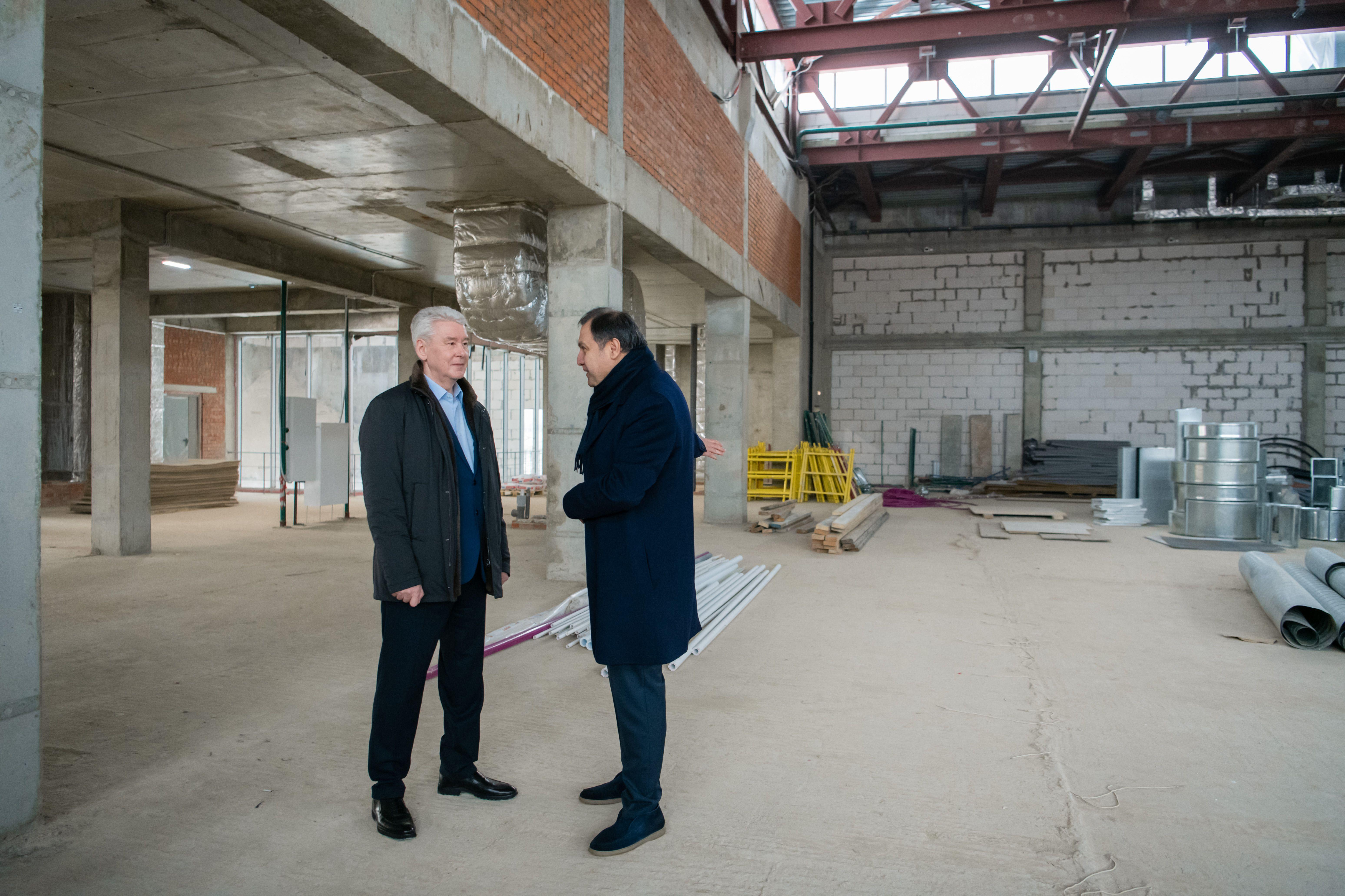 Фото: Мэр Москвы Сергей Собянин рассказал о развитии в Куркине программы «Мой район»