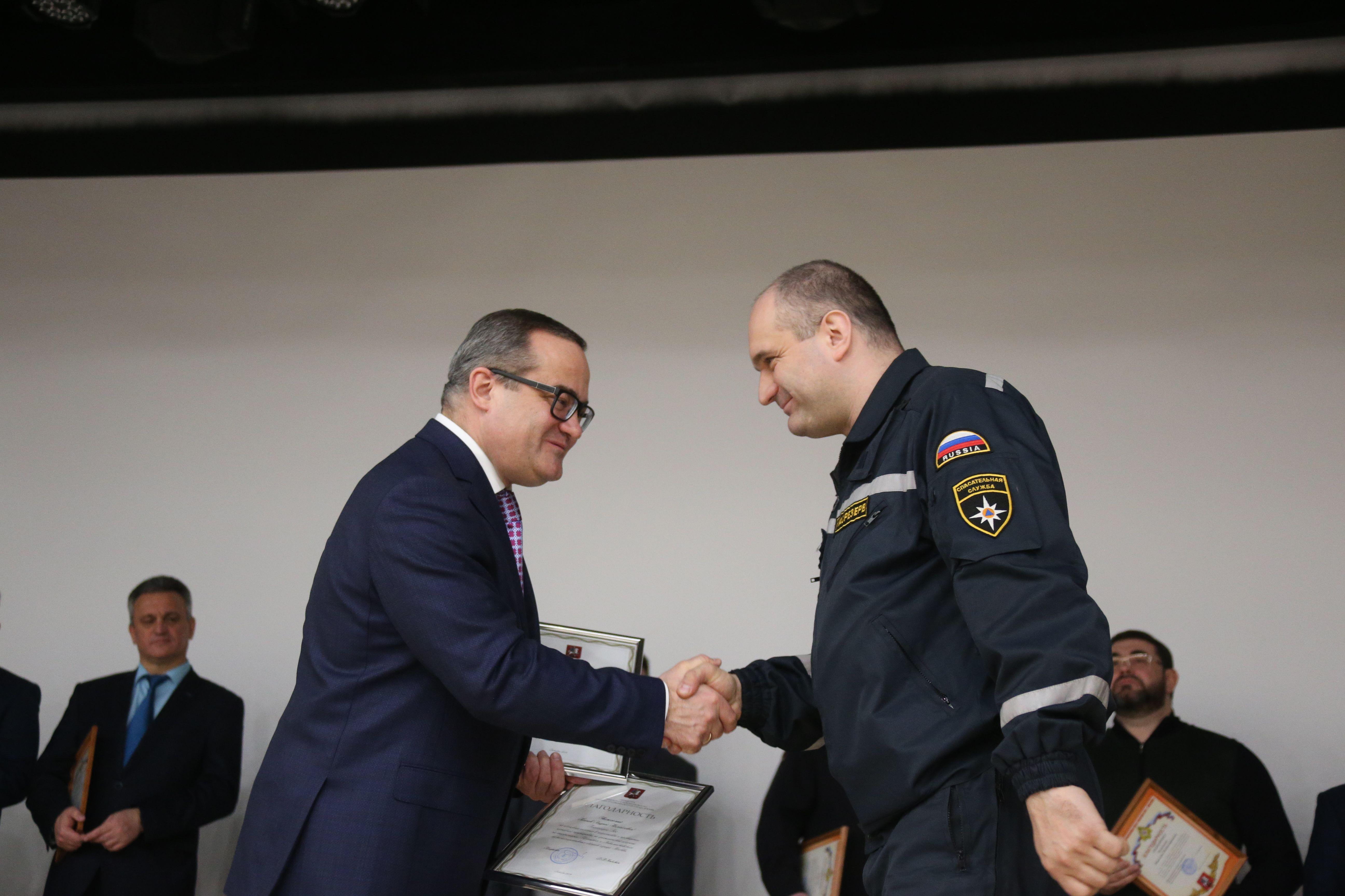 Итоги окружного звена МГСЧС за 2019 год подвели в префектуре Новой Москвы