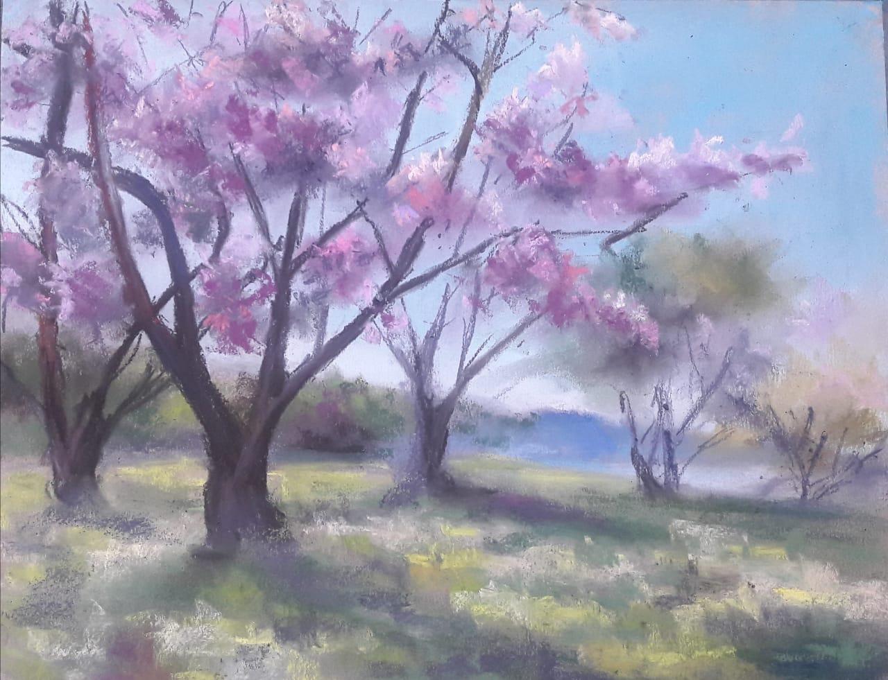 Картина художницы Ольги
