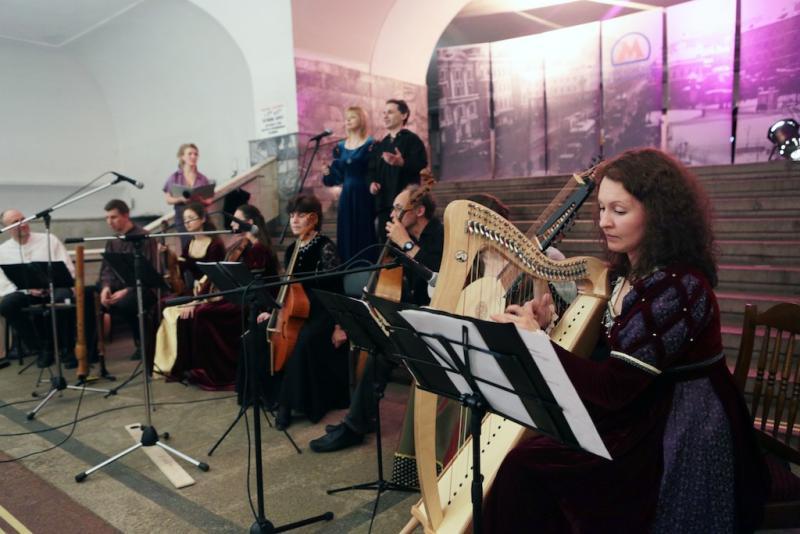 Более 150 заявок на участие в проекте «Музыка в метро» поступило от артистов