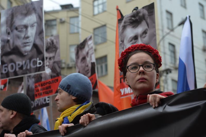 В центре Москвы начался мемориальный марш