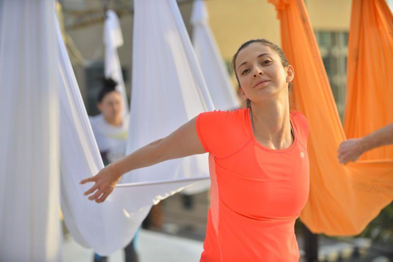 Москвичам предложили выбрать форматы уличных тренировок