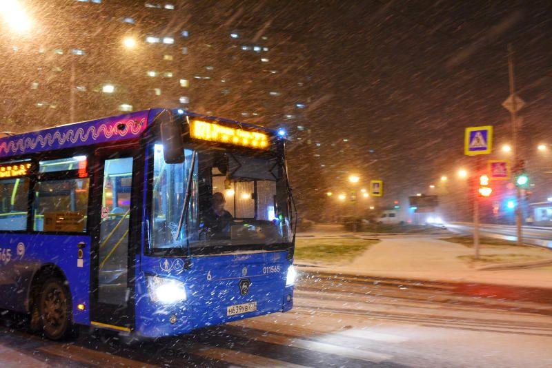 Снежные заносы ожидаются на дорогах Москвы
