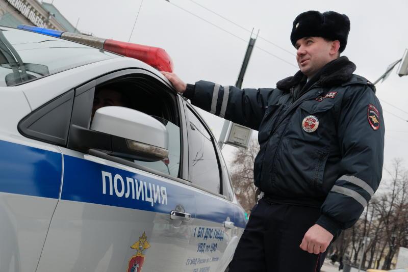 Дорожная полиция задержала нарушителя-рекордсмена в Москве