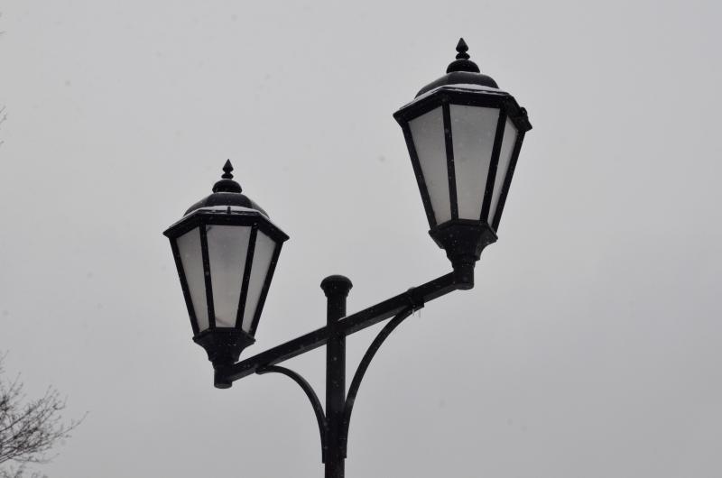 Неработающие фонари починили в селе Кленово