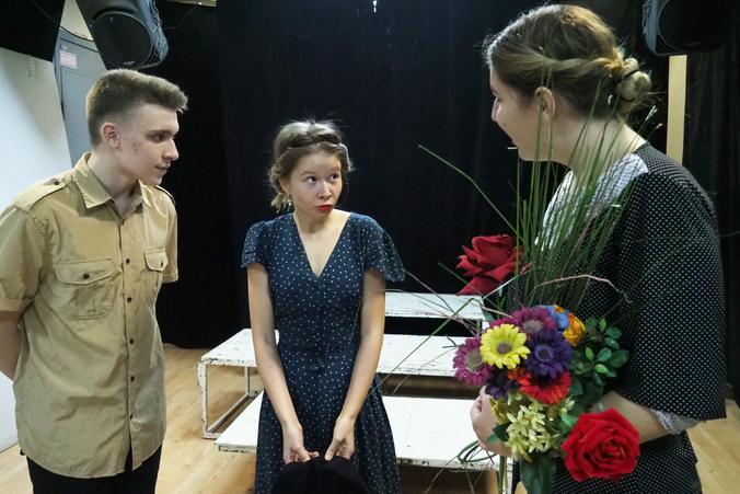 Подвигу десантника посвятили спектакль