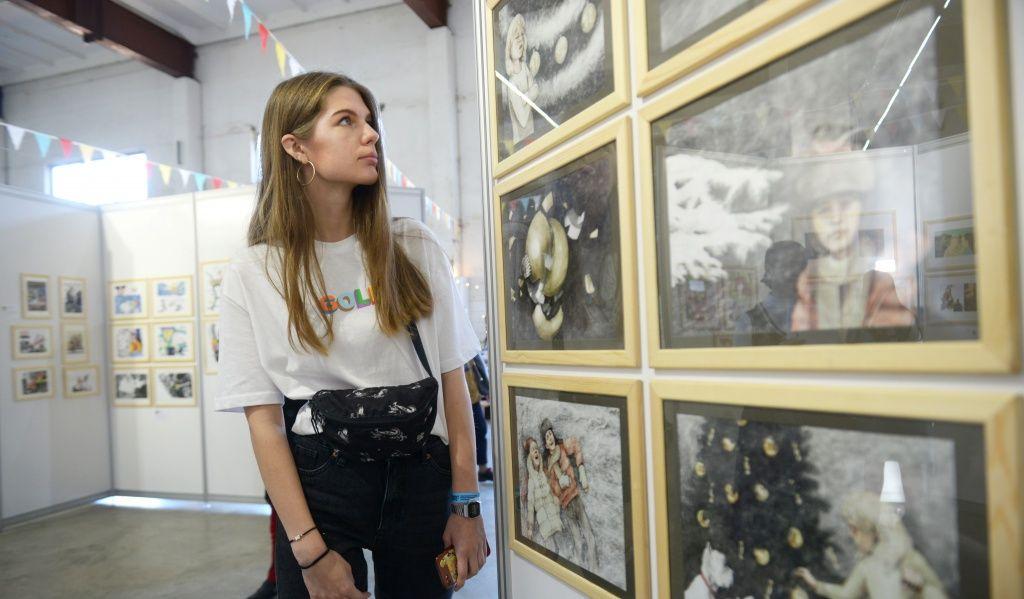 Конкурс рисунков о войне и Победе объявили в Краснопахорском