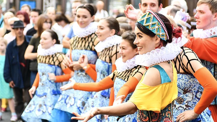 Студии этнографического танца «Дэста» в Щербинке исполнилось десять лет
