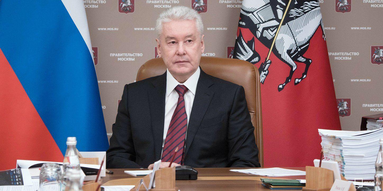 Мэр Москвы поручил доставлять продукты и лекарства пенсионерам