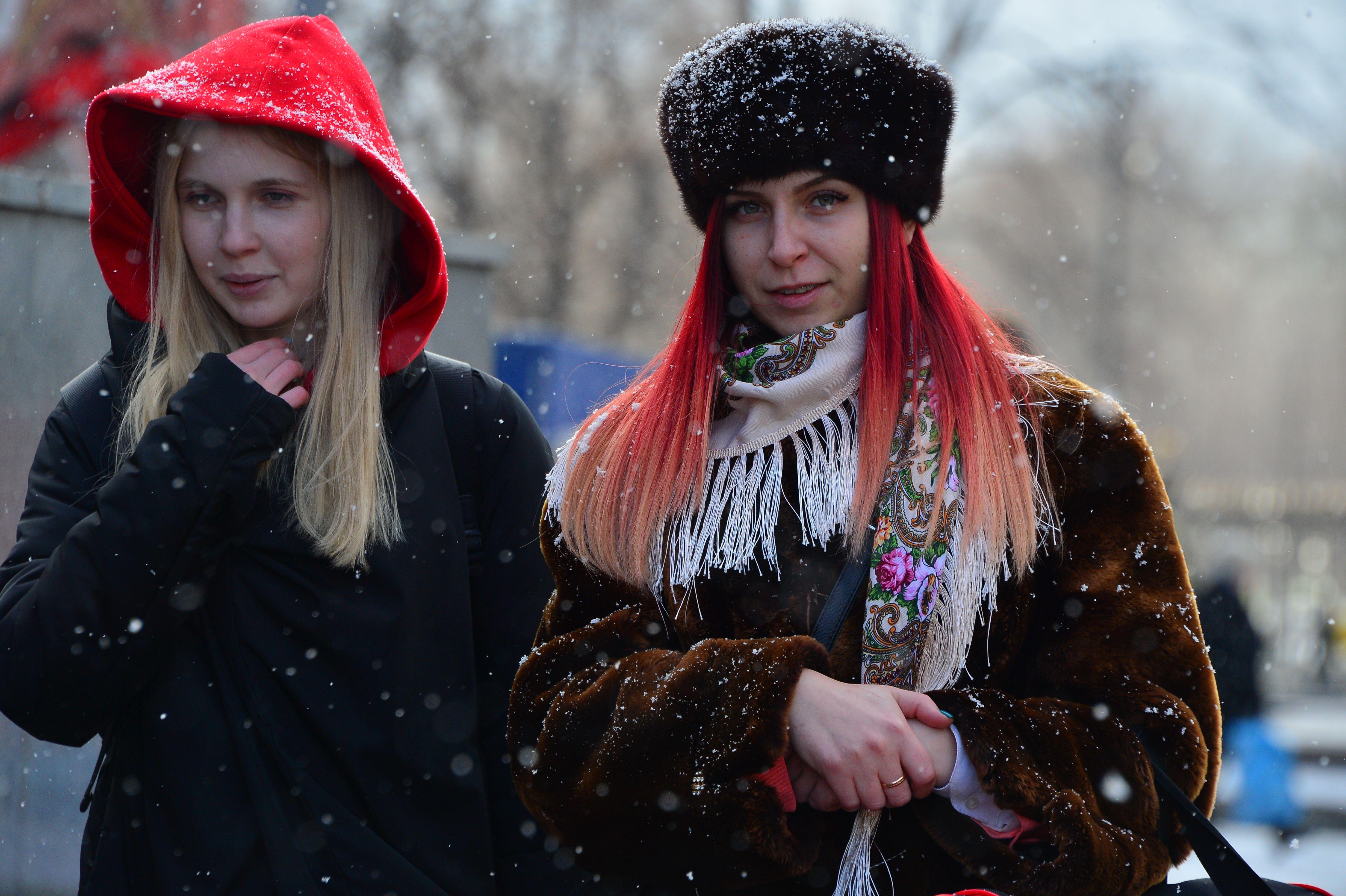 Московская температура рухнет до 10 градусов мороза на выходных