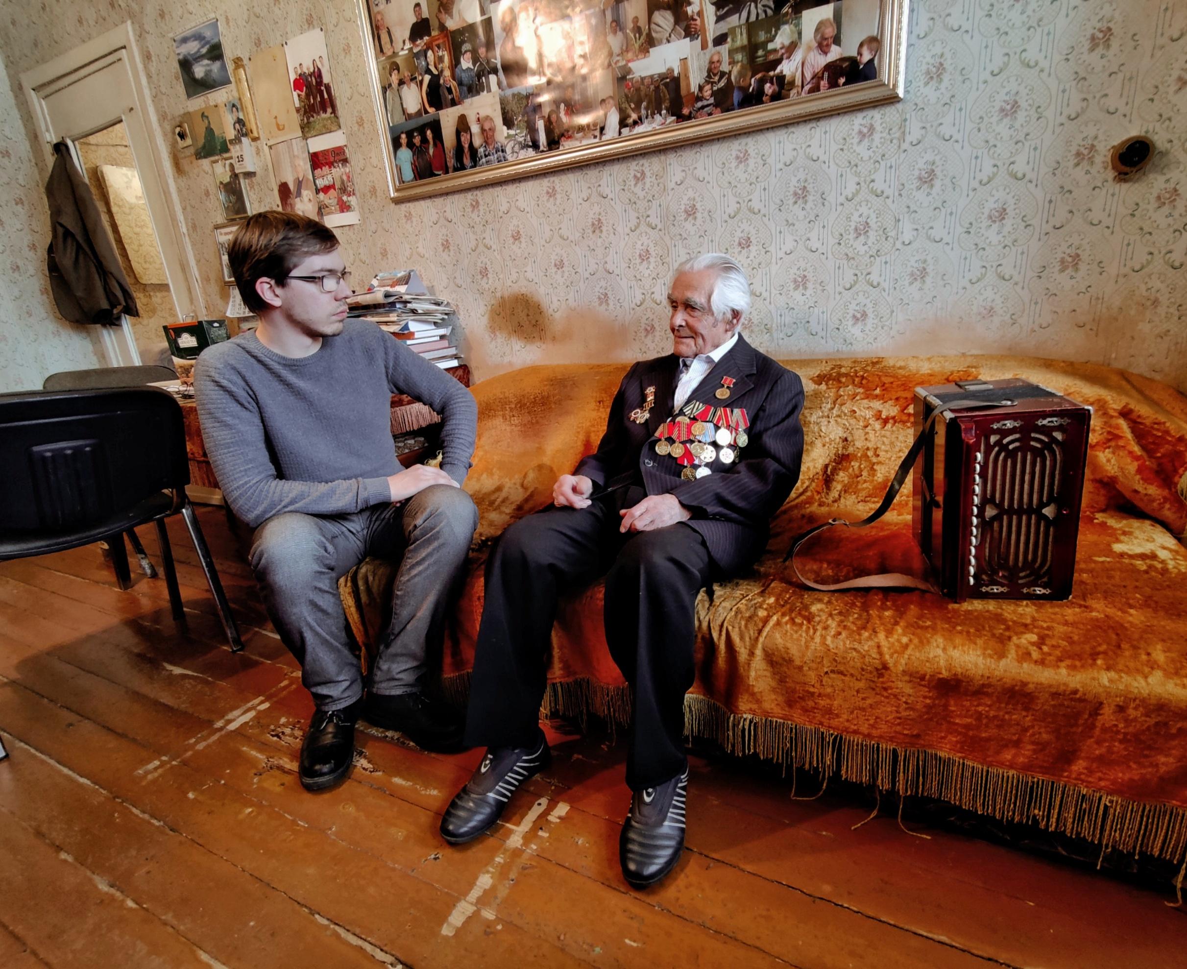 История ветерана Великой Отечественной войны Василия Кадова