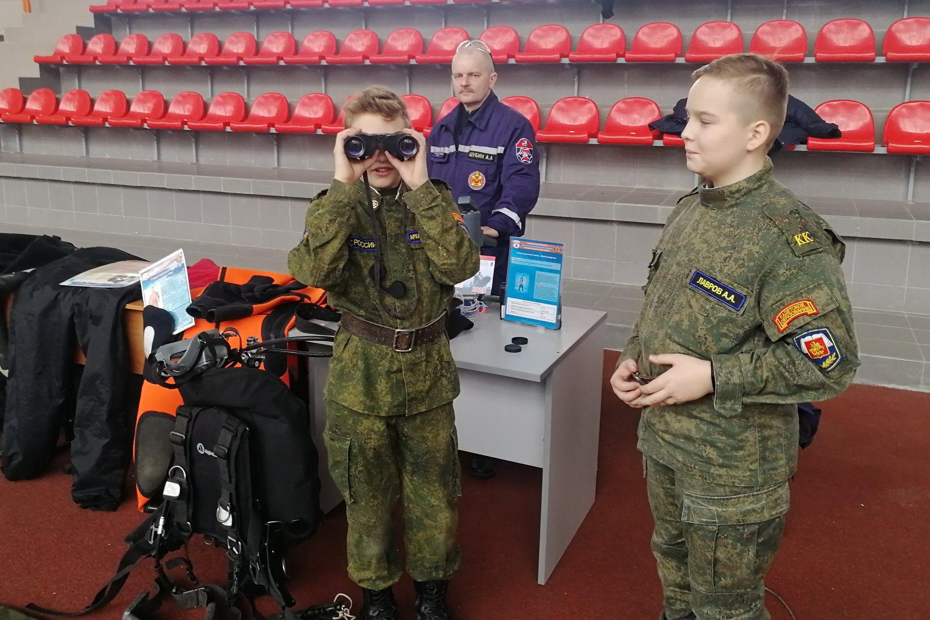 Юные пожарные столицы участвуют в чемпионате «Молодые профессионалы» по стандартам WorldSkills Russia