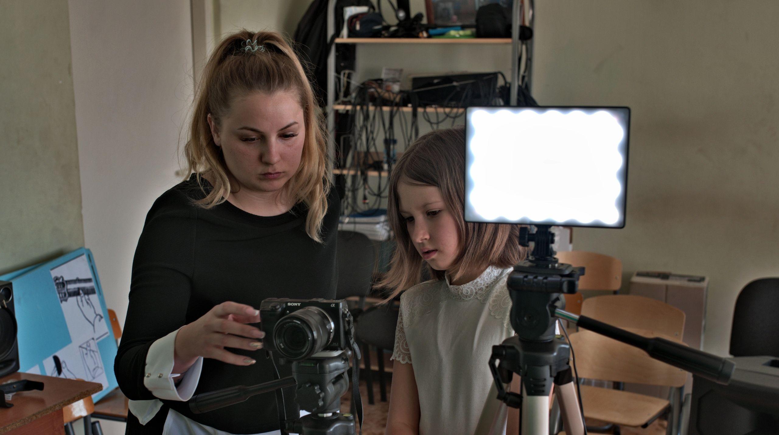 Ученики из Марушкинского поучаствовали в проекте «Медиатон»